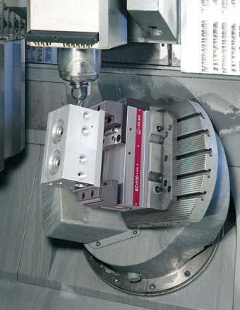 Roemheld's new 5-axis vice is a quick fix
