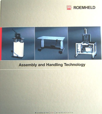 New Roemheld assembly and handling catalogue