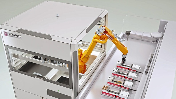 MACH 2020, hall 7, stand 430. Robotic handling cells automate machine tool operation