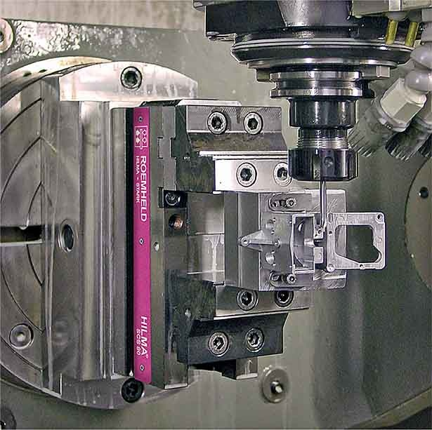 New Roemheld vices are ideal for 5-axis machining